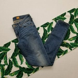 Anthro Pilcro STET Skinny Jeans